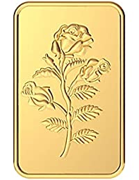 Malabar Gold & Diamonds 24k (999) Rose 2 gm Yellow Gold Bar