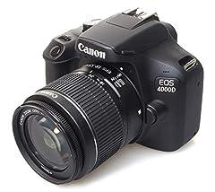 Idea Regalo - Canon EOS 4000D 18-55 SEE Fotocamera, Nero