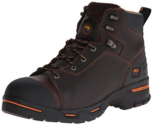 Timberland Pro Men's 52562 Endurance 6 PR Work Boot,Brown,7.5 M