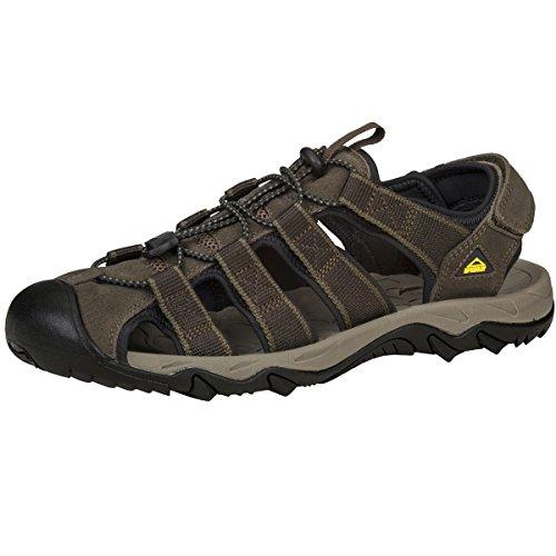 McKINLEY Herren Korfu Trekking-& Wanderhalbschuhe, Braun (Brown Dark 140), 43 EU