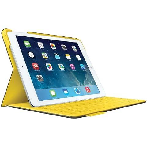 Logitech 920-006043 funda para tablet - fundas para tablets (Folio, Gris, Tela, Apple, iPad Air, Resistente al polvo, Resistente a rayones)