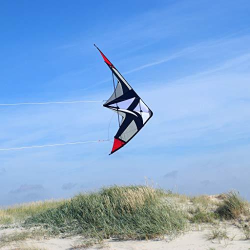 Wolkenstürmer Sportsman Lenkdrachen - Zweileiner Allround Kite Powerdrachen R2F