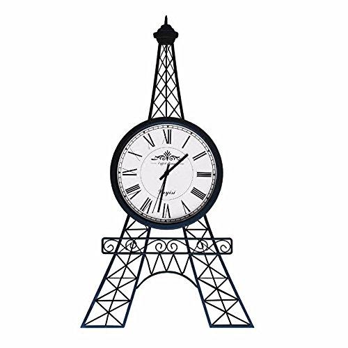 BYLE wall clock BYLE Kreative Wanduhren Innovative stilvoll mit dem Eiffel Turm uhr Mute europäischen Wohnzimmer minimalistischen Kunst Nordic moderne Dekoration Wanduhr