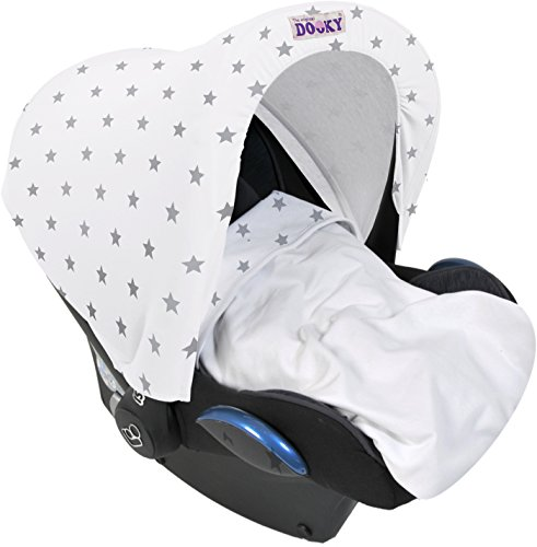 dooky-hoody-replacement-infant-car-seat-hood-silver-stars