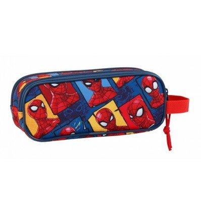 Safta Estuche Spiderman 'Slinging Time' Oficial Escolar 210x60x80mm