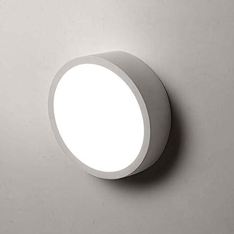 MEILING Creativo / Individualidad / sala de estar / dormitorio luz / Modern / simple / Ronda / Arte / el pasillo de luz / balcón / pared de la luz / Iluminación ( Tamaño : 25cm