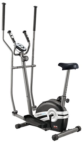 The 2-in-1 Magnetic Elliptical Cross Trainer & Cycle by Body Sculpture [BE6115]