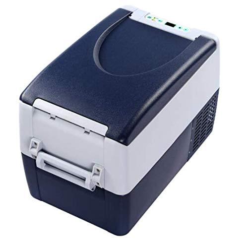 SHJIODFPK Kompressor Auto Kühlschrank, Auto Dual-Use 35 Liter Kleiner Kühlschrank, Büro Schlafsaal Wohnungstyp Outdoor Mini Auto Kühlschrank