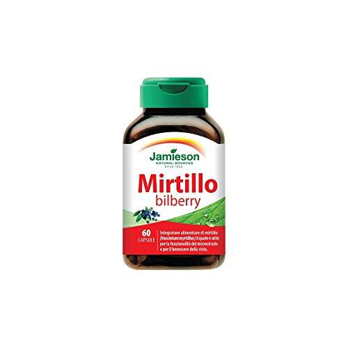 Mirtillo Bilberry - Jamieson - integratore alimentare di mirtillo