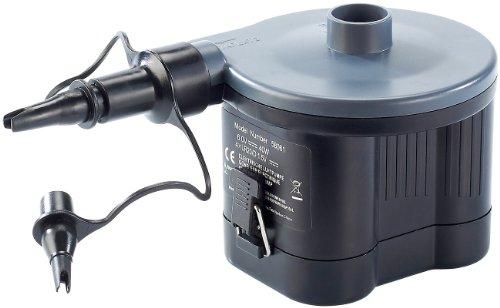 infactory Elektrische Pumpe: Elektrische Luftpumpe, Batteriebetrieb, 40 Watt (Batteriebetriebene Luftpumpe für Luftmatratzen)