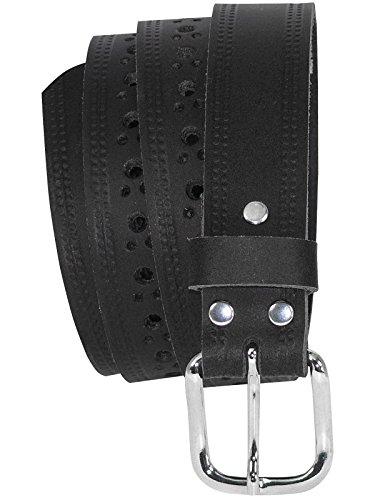 Gürtel Leder Neu Ledergürtel Damen Herren Größe M-xxl Hoher Standard In QualitäT Und Hygiene Schwarz Oder Braun