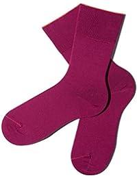 Lila Socken aus hochwertiger, mercerisierter Bio-Baumwolle - GOTS zertifiziert