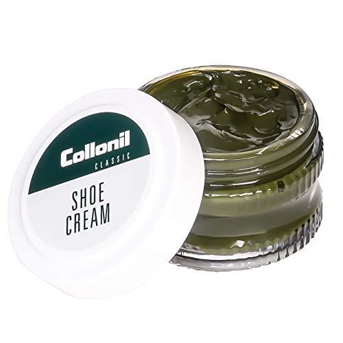 Collonil Shoe Cream, Unisex-Erwachsene Schuhcreme für Glattleder, forest, 50 ml -