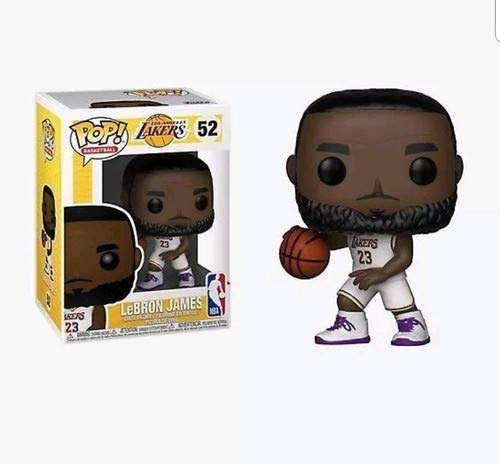 Funko 37271 Pop Vinilo: NBA: Lakers: Lebron James (White Uniform), Multi