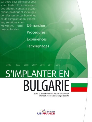 S'implanter en Bulgarie