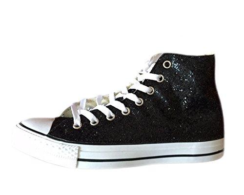 Converse All Star Converse Noir Glitter Noir