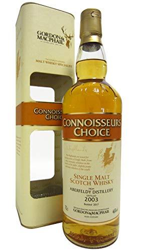 Aberfeldy Gordon & MacPhail Connoisseurs Choice Single Malt Scotch mit Geschenkverpackung 2003 Whisky (1 x 0.7 l) (Schokolade Orange Peel)