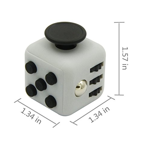 6-Sides Fidget Cube Relieve Stress, Anxiety, and Boredom for Children and Adults Anxiety Attention Toy - 2