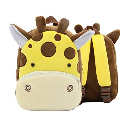 LUOEM Kindergartenrucksack Giraffe Plüsch im Test