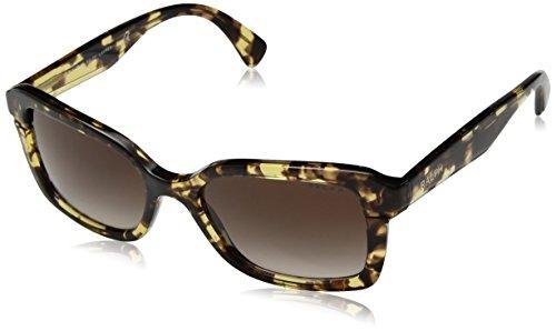 Ralph 0ra5239 167213, occhiali da sole donna, giallo (yellow tortoise/browngradient), 54