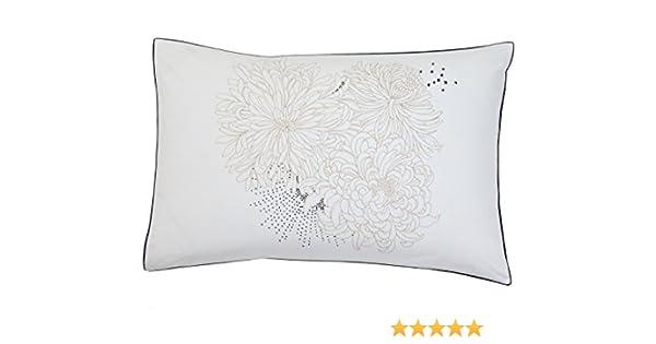 Blanc des Vosges Galaxie Taie 75x50 cm Coton Lin