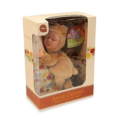 Anne Geddes Light Brown Baby Bear (Geddes Bear Baby Anne)