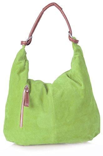 bhbs-femmes-suede-en-cuir-italien-grand-luxueux-hobo-sac-a-main-epaule-50x37-cm-lxh-lime-green