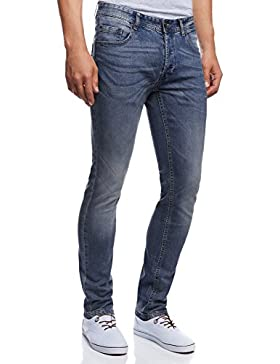 oodji Ultra Uomo Jeans Basic Slim
