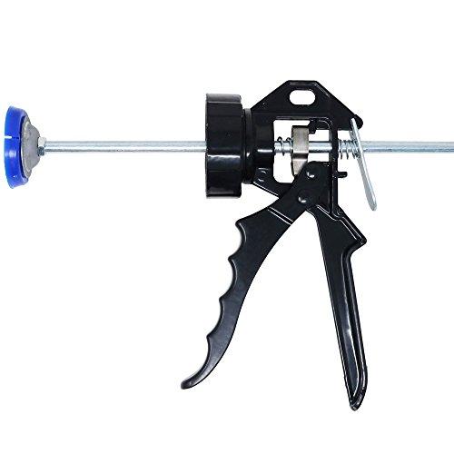 Orgrimmar Kartuschenpistole Glass Glue Gun Caulking leak-proof seal cartridge-mounted glue gun (374mm) Klebepistolen
