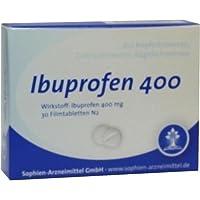 Preisvergleich für IBUPROFEN Sophien 400 Filmtabletten 30 St