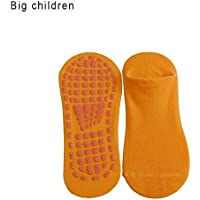 Bloomma Calcetines antirres baladizos Barre Yoga Pilates Hospital de con agarraderas para niños Adultos