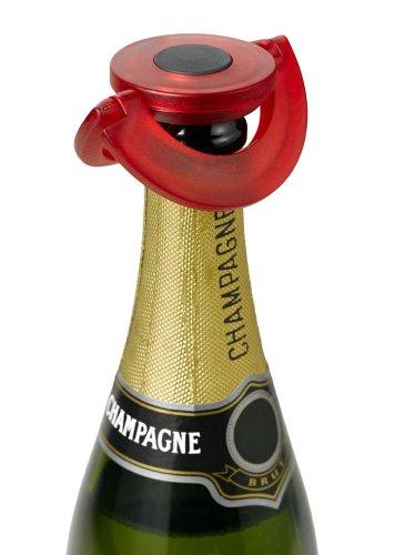 Champagnestopper Ø82mm H 17mm AdHoc FV35 Red