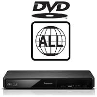 Panasonic DMP-BDT180EB Smart Blu-ray Player MULTIREGION for DVD