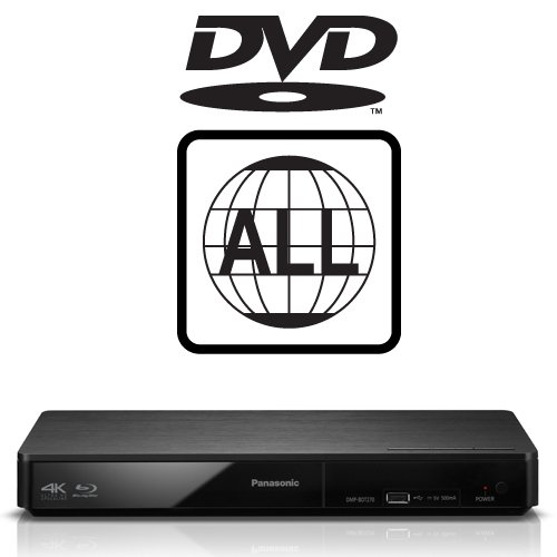 Panasonic DMP-BDT180EB Smart Blu-ray Player MULTIREGION for DVD