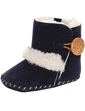 Fuibo Babyschuhe, Netter Junge Mädchen Baby Weiche Sohle Schneeschuhe Weiche Krippe Schuhe Kleinkind Stiefel