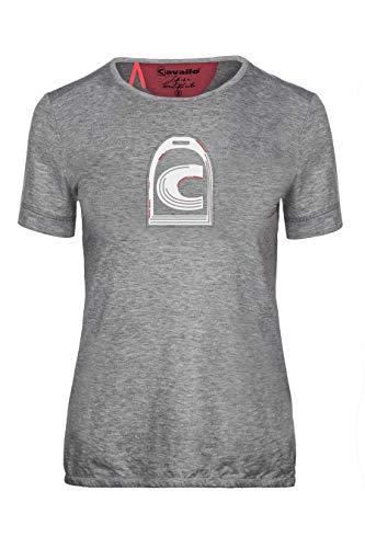 Cavallo Damen T-Shirt MARA (Frühjahr/Sommer 2019), Silver Melange, 38