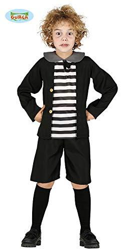 Spukender Junge Pugsely Addams Family Halloween Kostüm Kinder Jungen (Kostüme Für Halloween 3 Familie)
