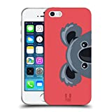 Head Case Designs Koala Guckende Tiere Soft Gel Hülle für Apple iPhone 5 / 5s / SE
