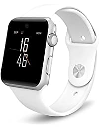 Best Buy inoxidable 128 M + 64 M Pantalla táctil Smartwatch Soporte SIM/tarjeta SD pedemeter Anti-lost Monitor de descanso A1