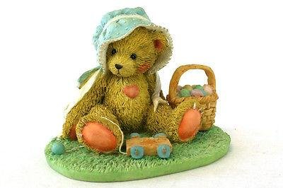 Cherished Teddies Henrietta - A Basketful Of Wishes