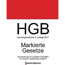 HGB, Handelsgesetzbuch, Smarte Gesetze, Markierte Gesetze: Hervorhebung von wichtigen Textstellen für Studium, Ausbildung und Beruf