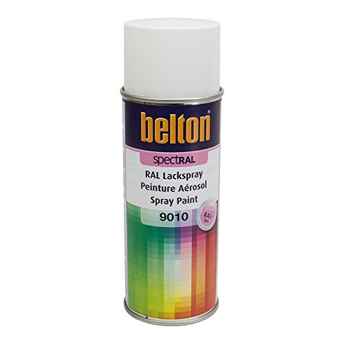 Preisvergleich Produktbild KWASNY 324 190 BELTON SPECTRAL Lackspray RAL 9010 reinweiß hochglanz 400ml