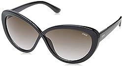 IDEE Gradient Cat Eye Womens Sunglasses - (IDS2057C1SG|61|Smoke Gradient Color)