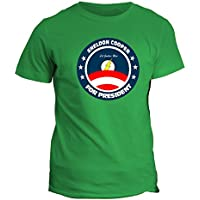 Tshirt lega della giustizia sheldon elezioni americane Vote for Sheldon