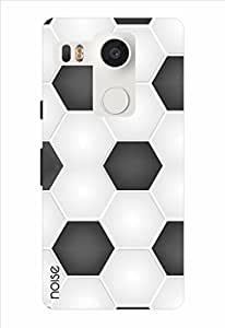 Noise Football Background Printed Cover for LG Nexus 5X