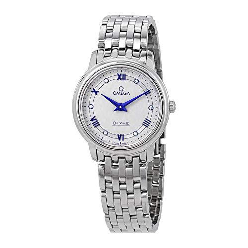 Omega De Ville Diamond Grey Dial Ladies Watch 424.10.27.60.56.002