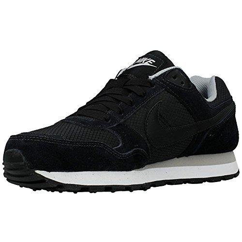Nike Wmns Md Runner, Scarpe sportive, Donna Black/Black-Wolf Grey
