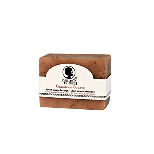 noire Ô naturel Savon d'Antan Granité de Goyave 100 g