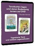 Tarotkarten legen und deren Bedeutung lernen auf DVD - 7 Stunden Seminar mit allen Tarot Deutungen und Legemethoden