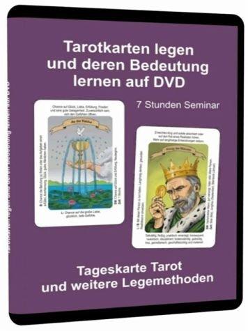 Tarotkarten legen und deren Bedeutung lernen auf DVD - 7 Stunden Seminar mit allen Tarot Deutungen und Legemethoden (Tasche Ausführliche)